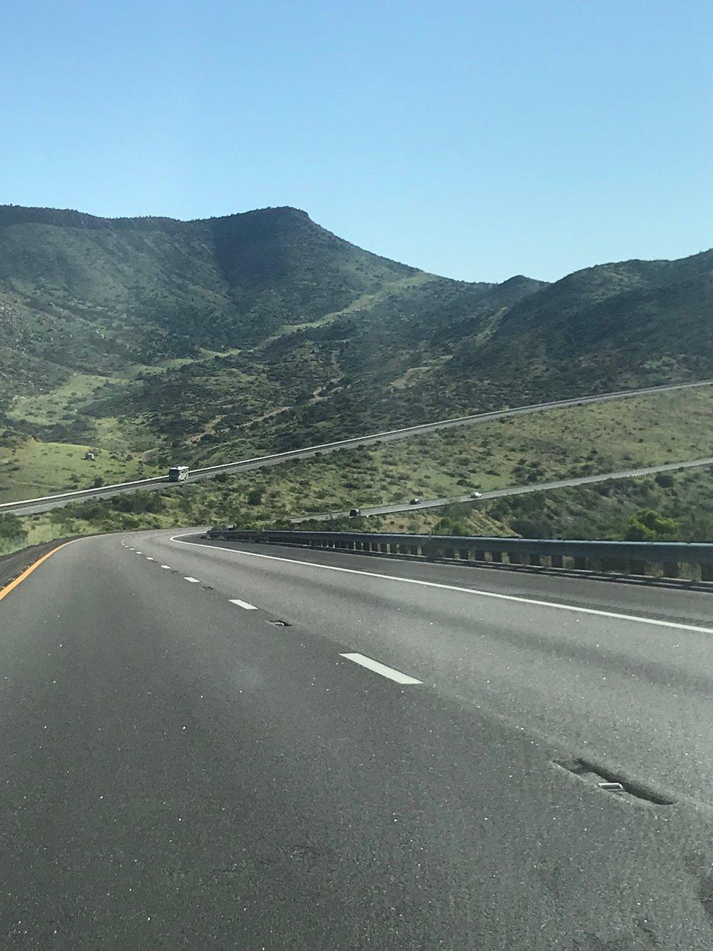 Scenery in Kingman, Arizona