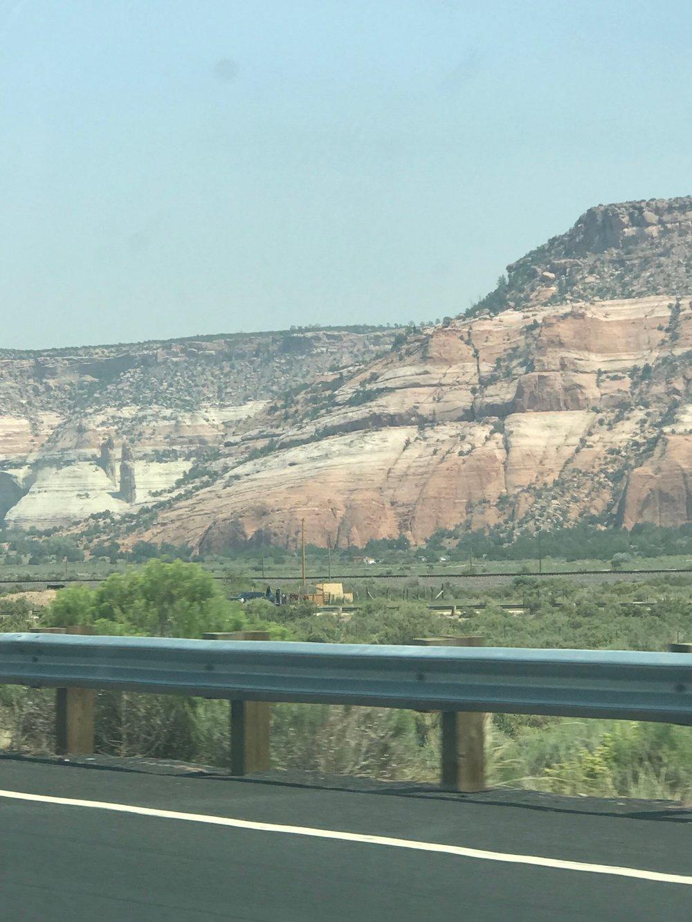 Scenery in Concho, Arizona