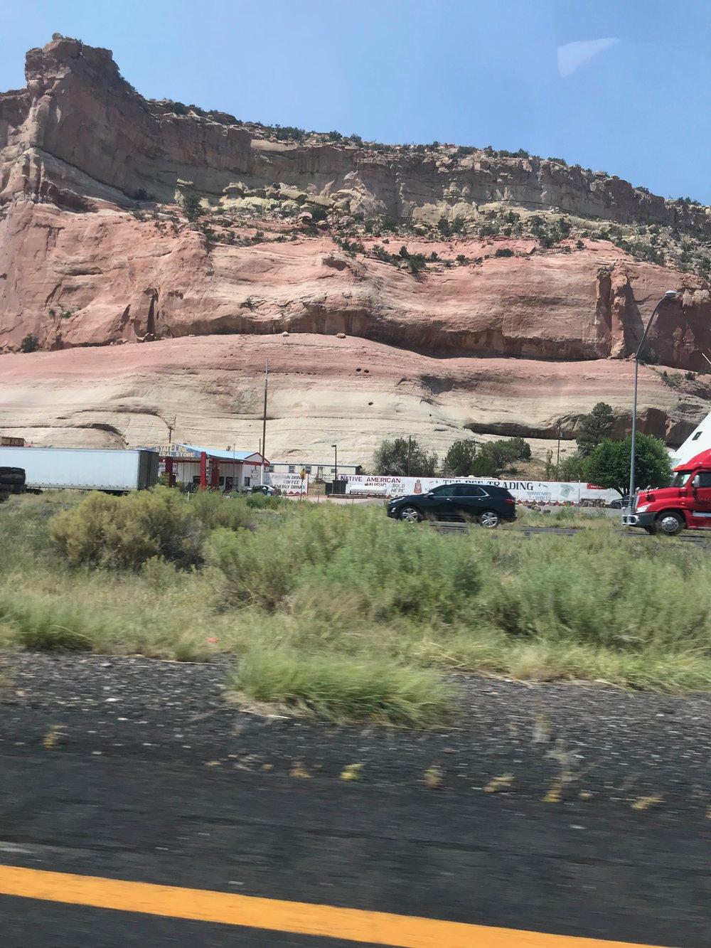 Scenery in Lupton, Arizona
