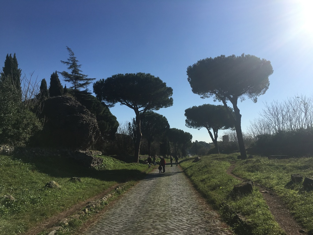 The Appian Way, Rome