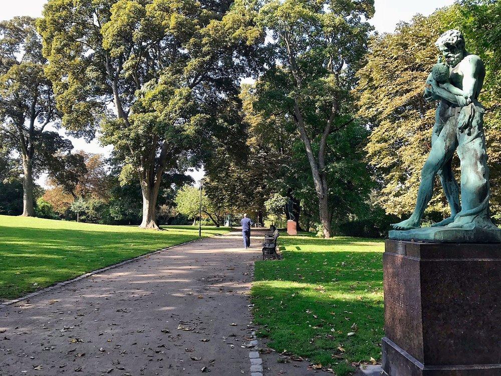 Ørstedsparken park
