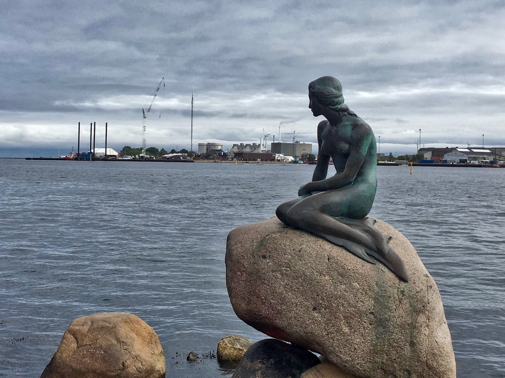 The LIttle Mermaid, An Icon of Copenhagen and Popular Tourist Site