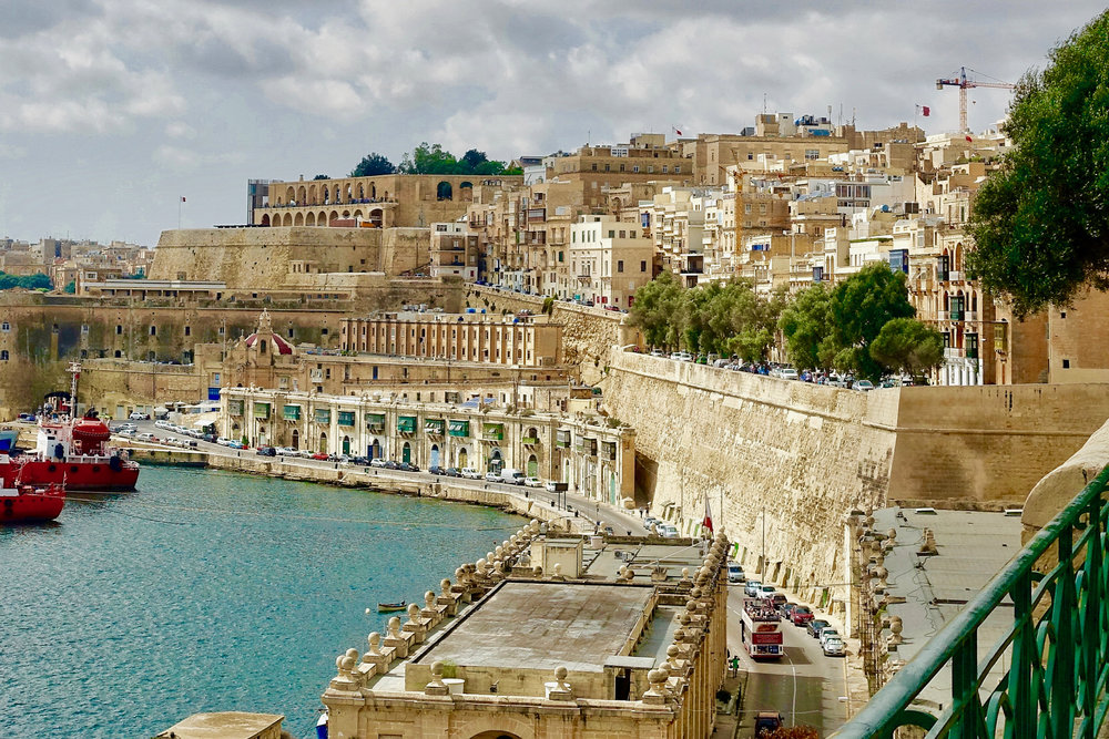THE ANCIENT WALLED CITY OF VALLETTA