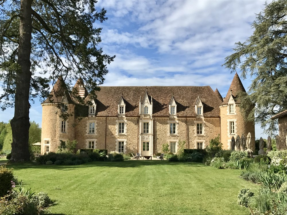 SLH offered 50% off Suites at select properties During BLack Friday 2016, including This Stunning  French Chateau . This Photo is From Our Magical Stay in April.