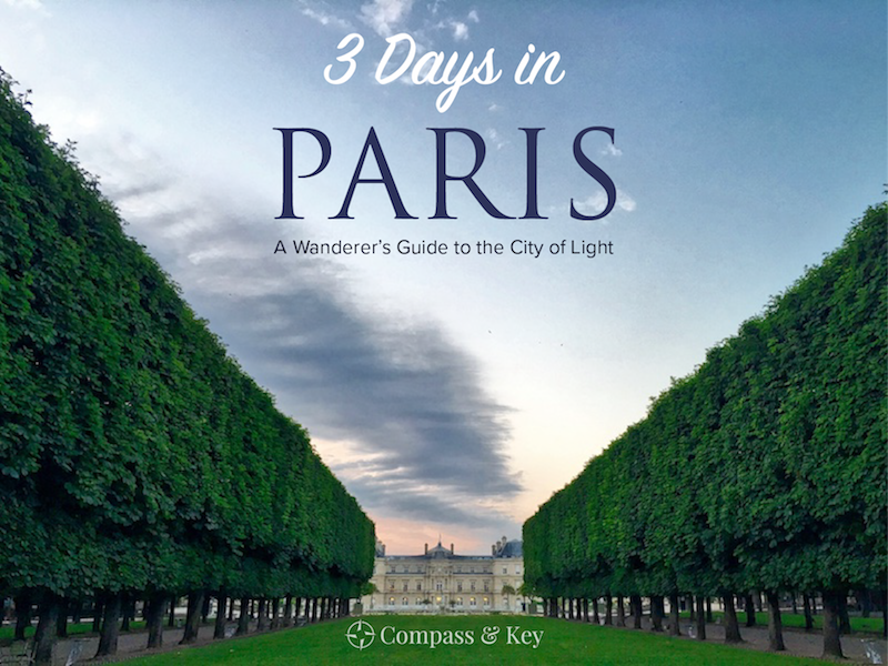 Wandering Paris in 3 Days - Visiting Paris this year? We've taken the best of our itineraries for wandering Paris to create a 3-Day Vacation Guide to help you plan your time. Whether this is your first visit or your fourth, there is always something new to explore in the City of Light. Let Compass & Key help you curate your own vacation of discovery.