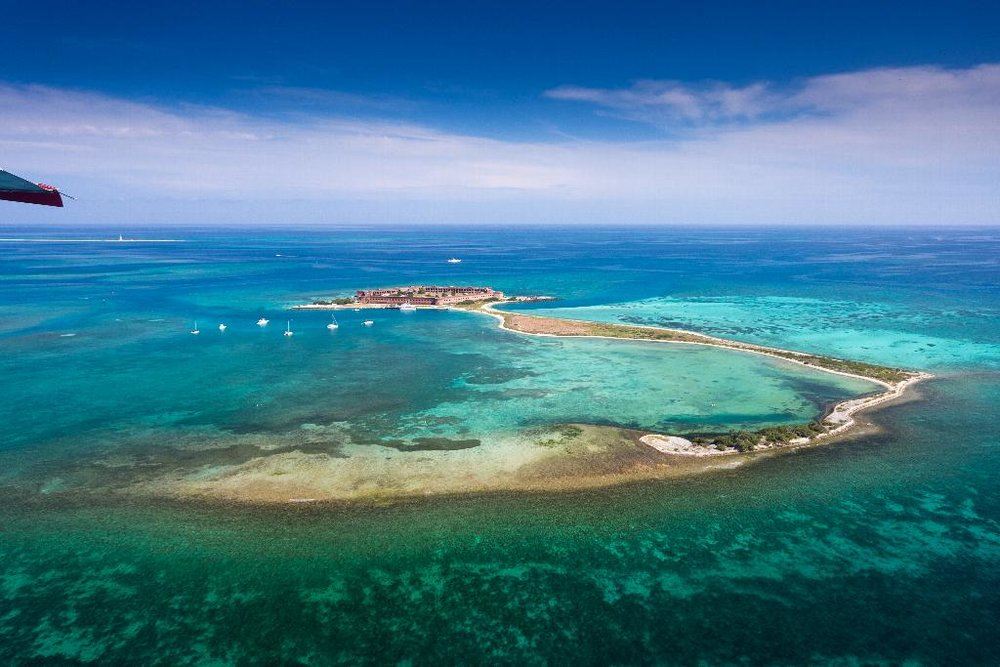 Fort JEfferson in Dry Tortugas National Park /Photo by Laurence Norah/Florida Keys News Bureau