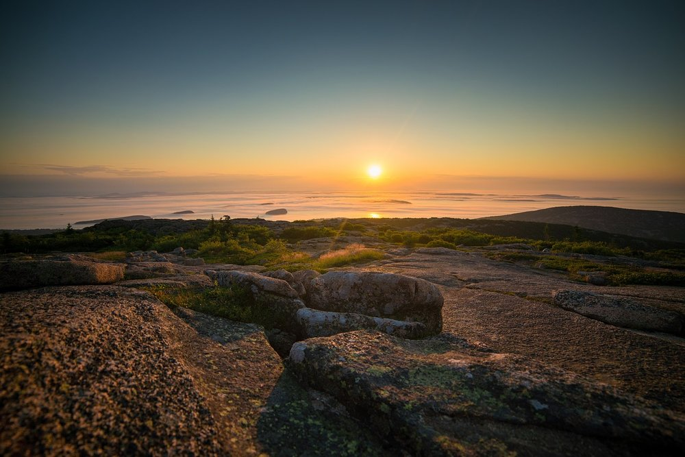 Acadia National Park - Where Sun Meets Mountain
