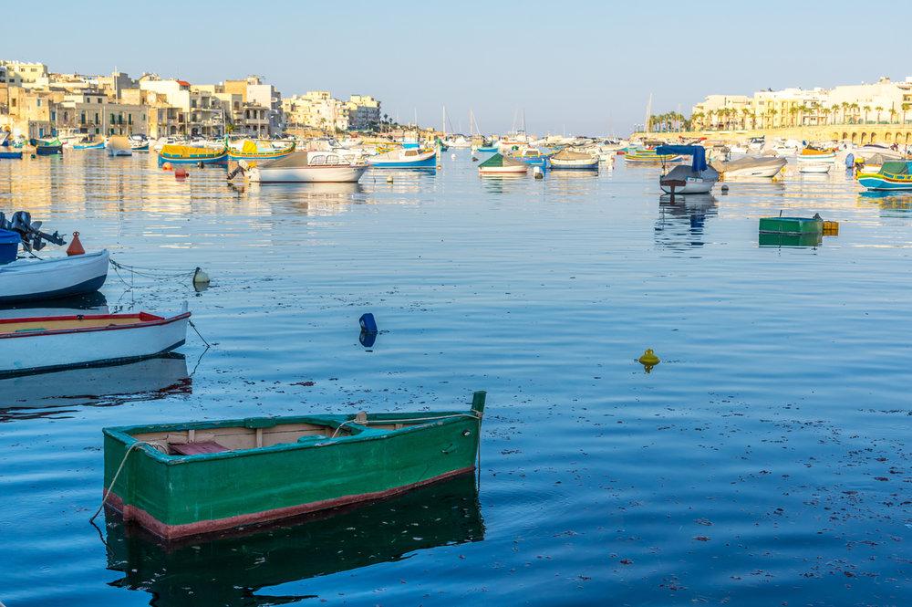 Marsaskala Bay / iStockPhoto