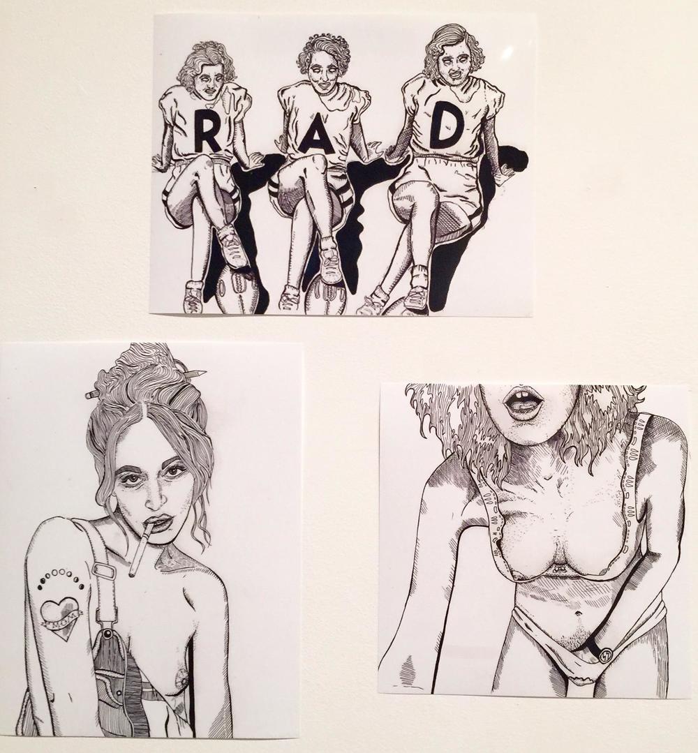 Eighteen Plus / Nikki Pecasso / Ink