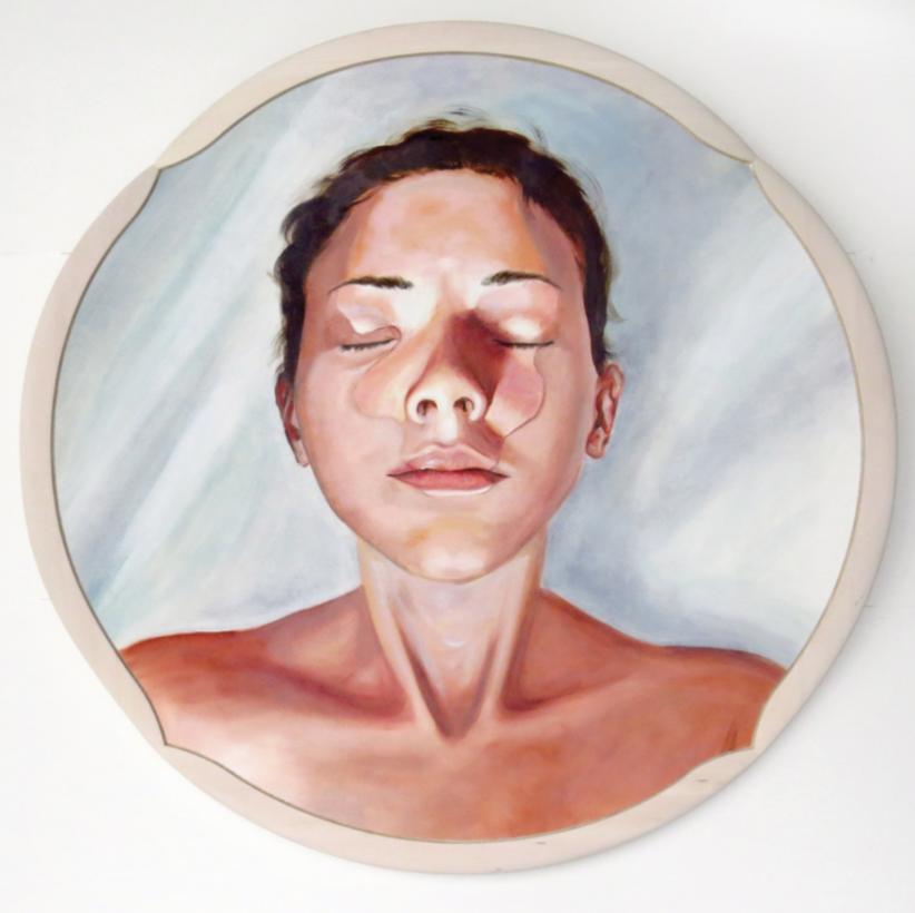 Pulsation / Marie-Pier Leclerc / Oil on canvas
