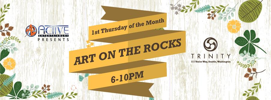 art on the rocks first thursday