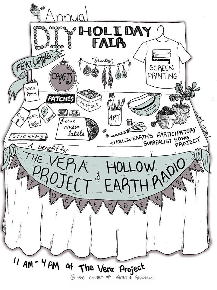 Vera Project DIY Holiday Fair