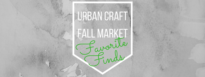Urban craft fall market favorite finds