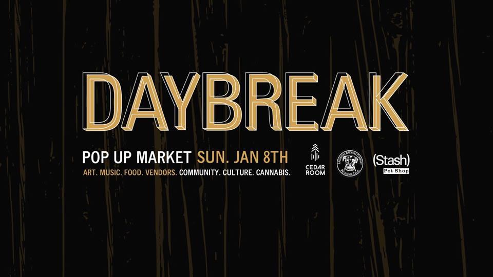 daybreak pop up market