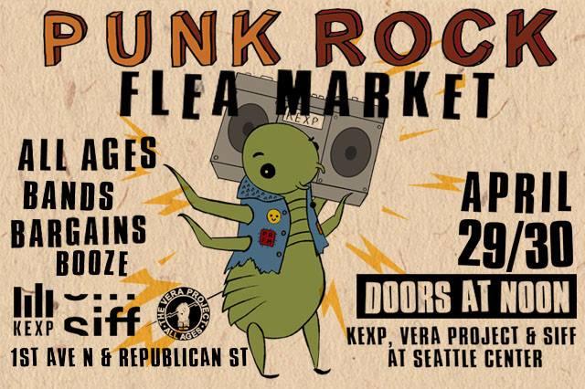 PRFM Punk Rock Flea Market seattle