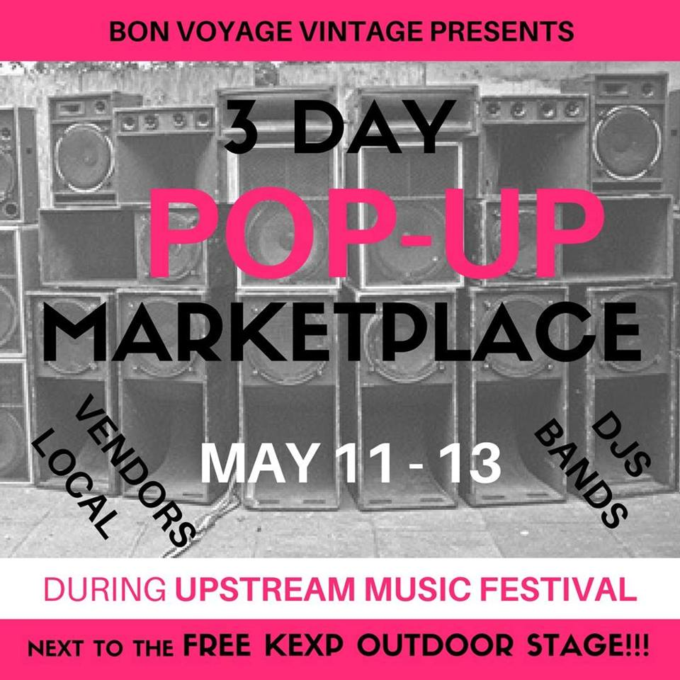 Upstream pop up marketplace at bon voyage