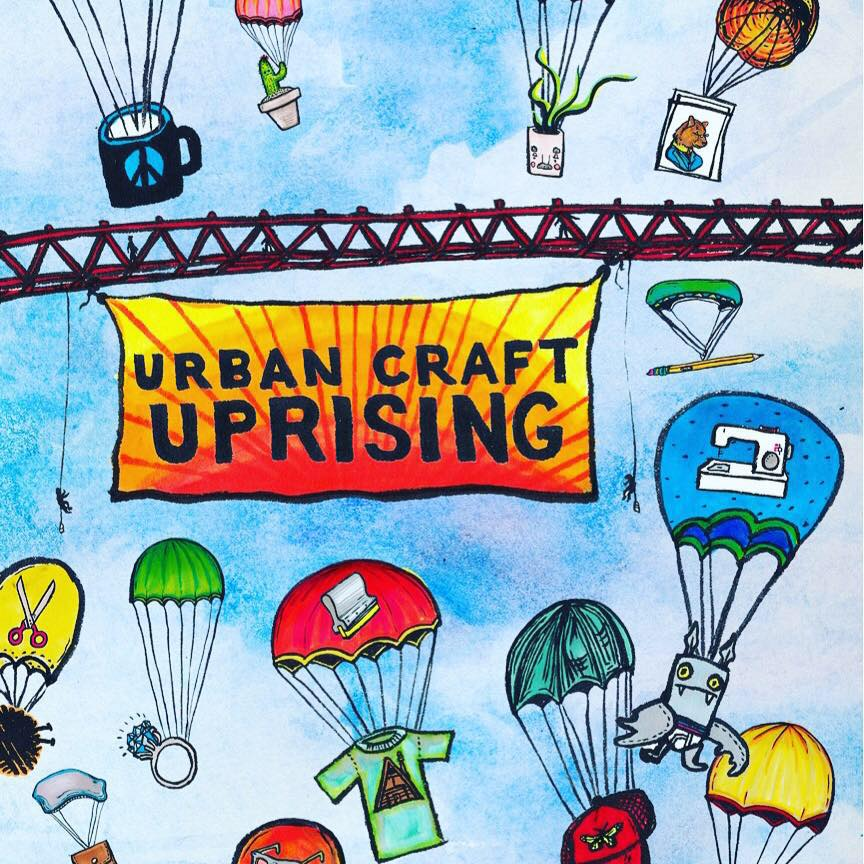 urban craft uprising 2017 summer show
