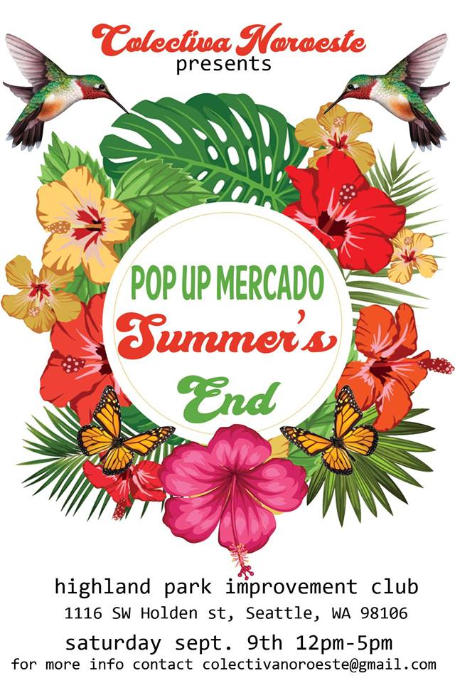 Pop Up Mercado: Summer's End