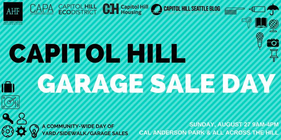 Capitol Hill Garage Sale Day