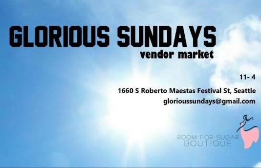 Glorious Sundays Pop Up Market