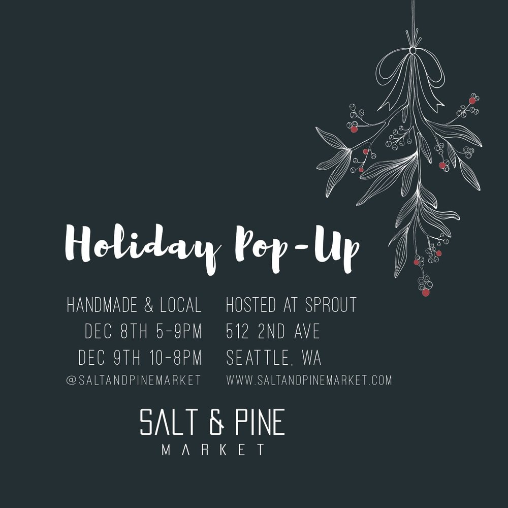 Salt & Pine Market - Holiday Pop-up
