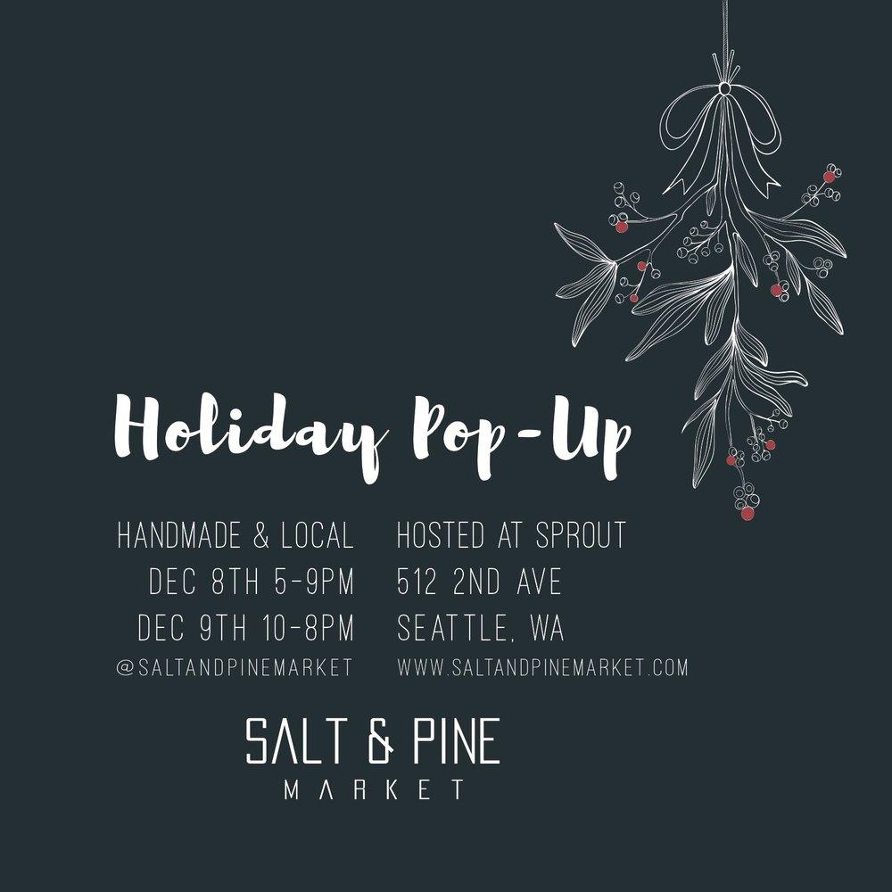 Salt & Pine Market - Holiday Pop-up