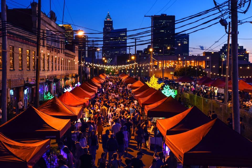 Slu Solstice night market
