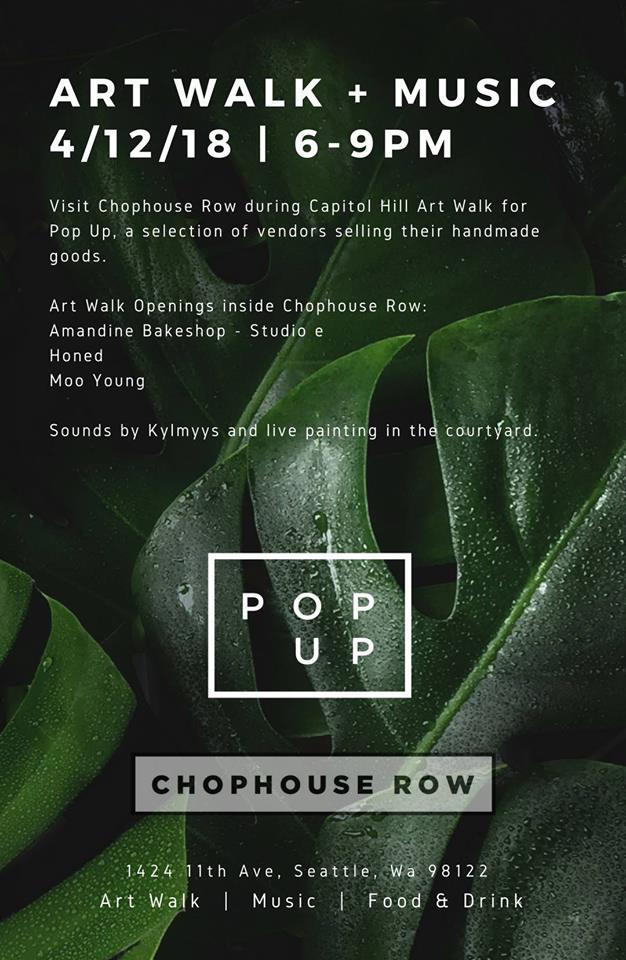 Art Walk + Pop Up at Chophouse Row