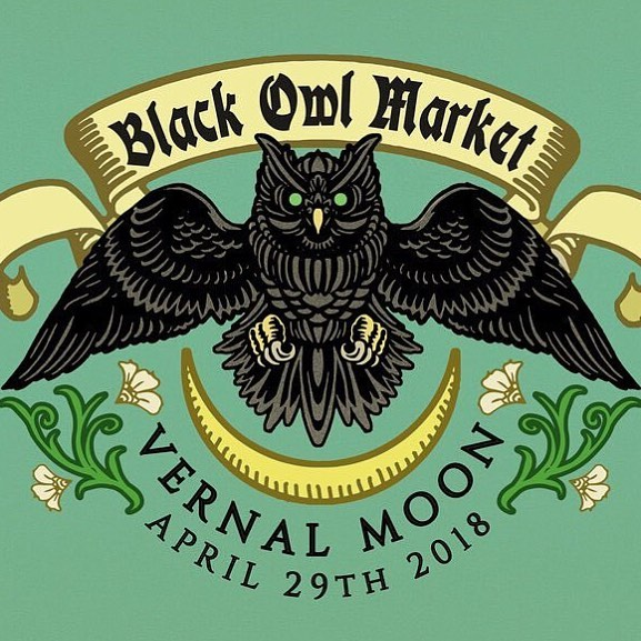 This Sunday 4/29! Stop by @blackowlmarket to check out some great local makers! Including @soapy_biz  @openthecellardoor  @squirrelvscoyotejewelry  @sigilbyanitaarora @ghostgallery @thesmallbeast @corvidaegoods and many more! . . . #seattle #handmade #darkartists #darkart #seattlemade #makersgonnamake #supporthandmade #pnw #seattleevents #popupmarket #witchesofinstagram #witchy #blackowlmarket #goth #handmadejewelry #gothstuff #apothecary #crystals #seattleartist #seattleart