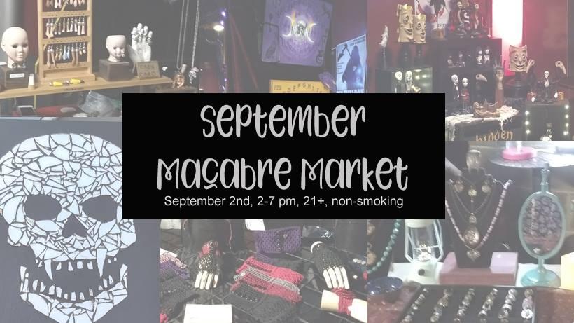 September Macabre Market