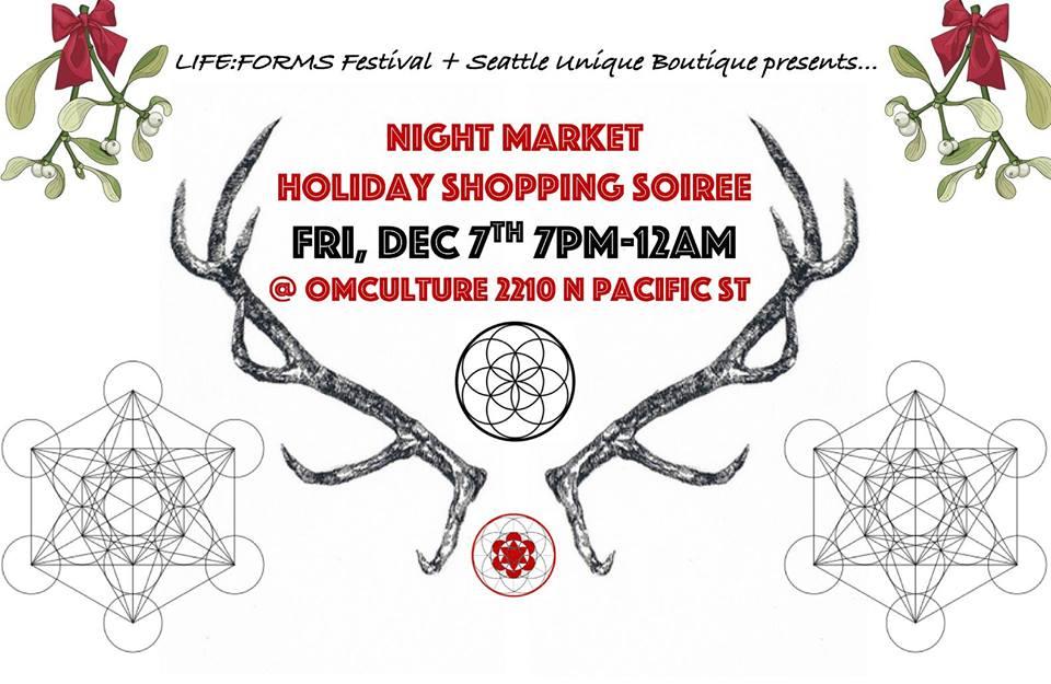 Night Market Holiday Shopping Soiree