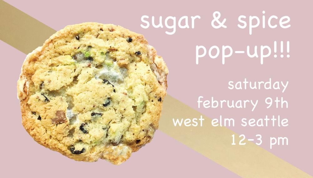 Sugar & Spice x West Elm Pop-up