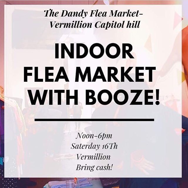 Happening now! Saturday 2/16 until 6pm! Swing through the @dandyflea at @vermillionseattle Grab a drink and browse some great local makers and vintage sellers! ✨✨✨ . . . #seattle #shoplocal #shopsmallseattle #pnw #supportlocal #popupshop #popupmarket #shopping #handsandhustle #handmade #handcrafted #handmadejewelry #fleamarket #fleamarketfinds #vintagelifestyle #retroaesthetic #myeclecticmix #seattleliving #seattleevents #happeningnow #localart #seattleart #capitolhillseattle #handmadegoods #vintagefinds #vintageclothing #vintageasthetic  @floriavintage @jesusmaryannejoseph