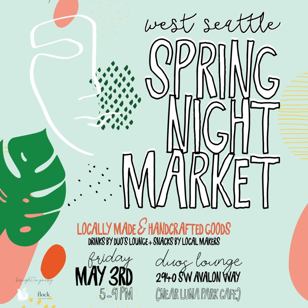 West Seattle Spring Night Market