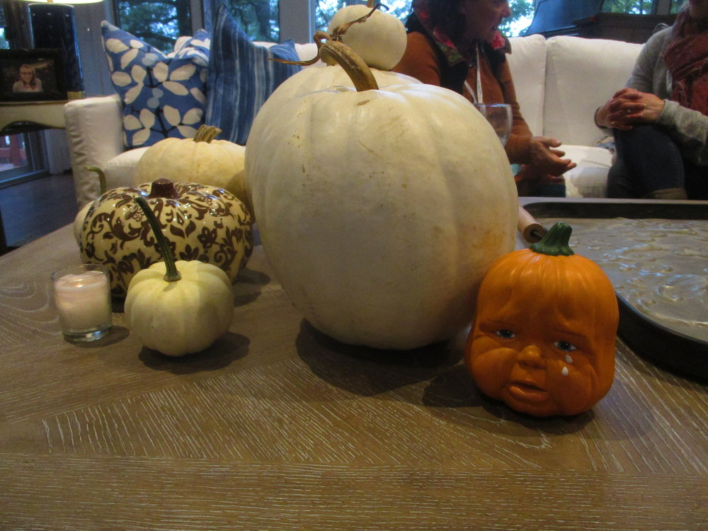 Weeping Baby Pumpkin Head made some new friends at Norpines.