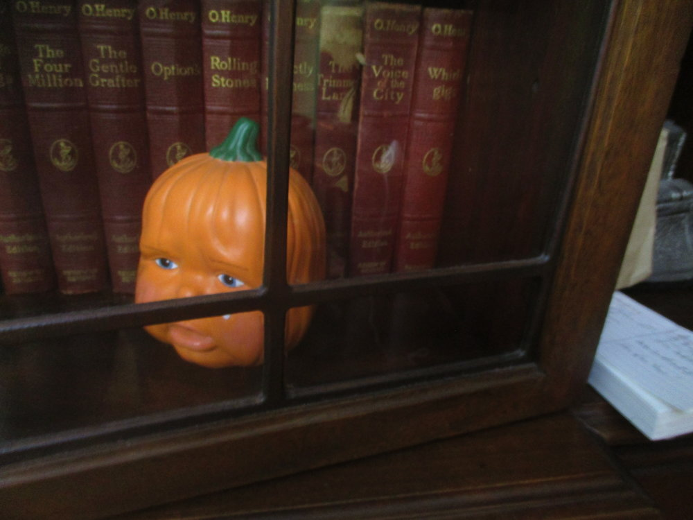 Where will Weeping Baby Pumpkin Head appear next?