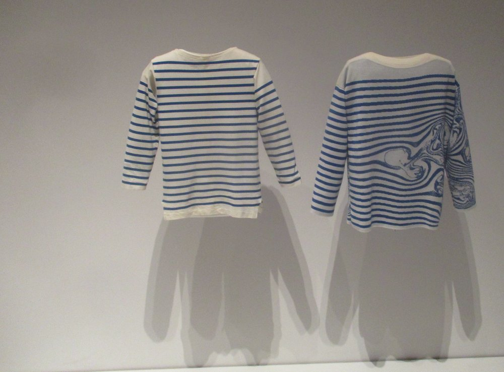 A traditional Breton sweater with a novel new interpretation.