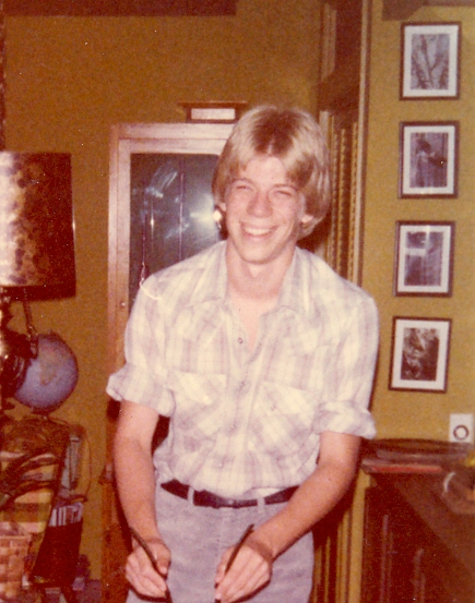 In 1979 ten years before I came out. I used to love that shirt.