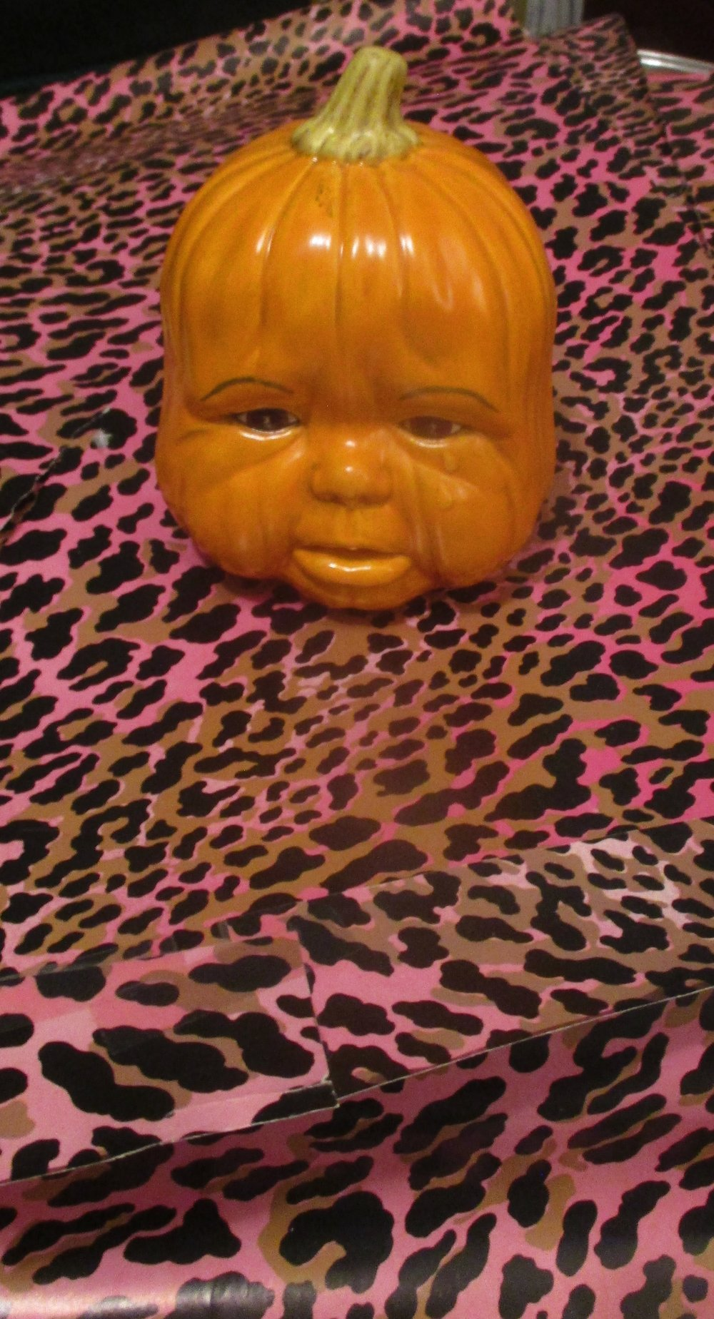 Weeping Baby Pumpkin Head did not get to see the royal wedding today.