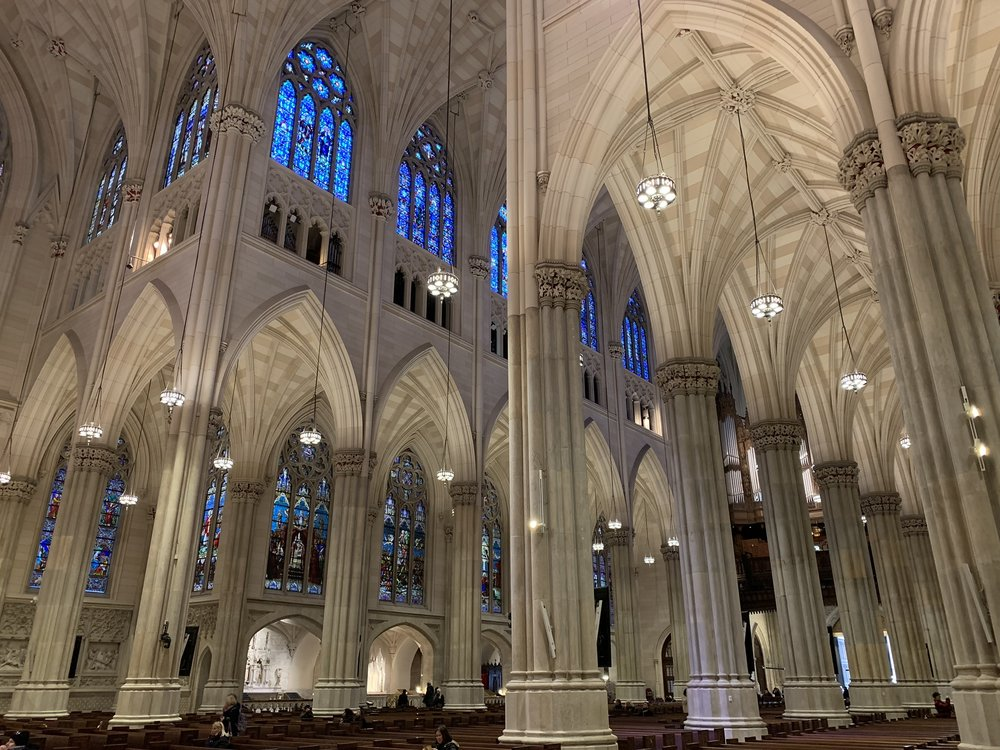 Interior of Saint Patrick's Cathedral.