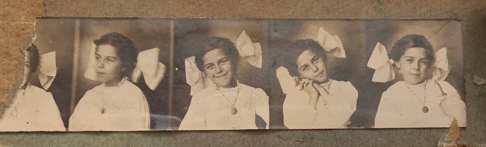 My sweet Gramma as a little girl.