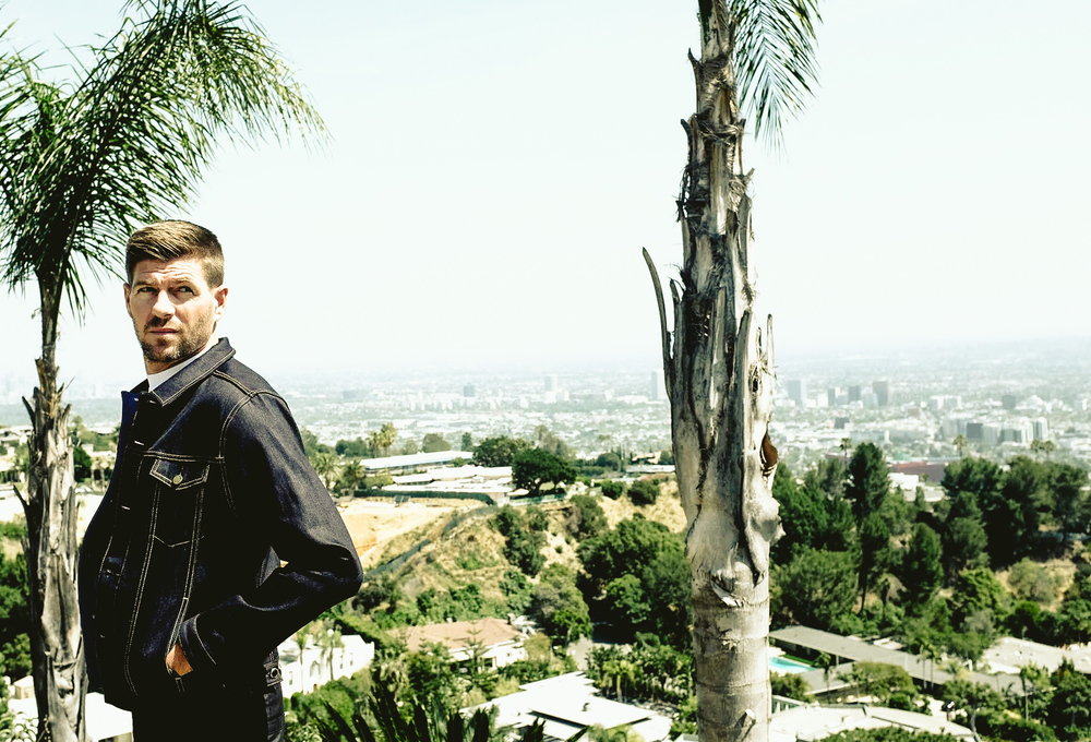 Photos shot in the Hollywood Hills by Robbie