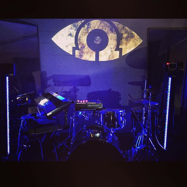 Rehearsing for the 7th of July at @thefoundrybrisbane #omegachild #liveelectronic #heavyelectronica #keysanddrums #brisbanemusic