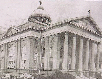 Greek Orthodox Church at Pryor Street 1928-1970