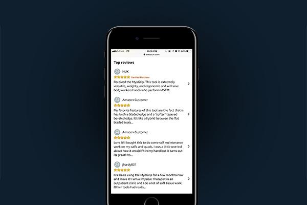 5 Star Rating on Amazon -