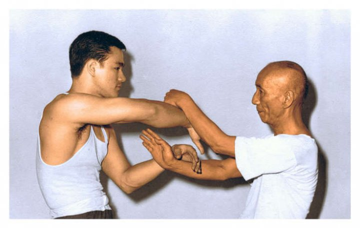 Bruce and Ip Man
