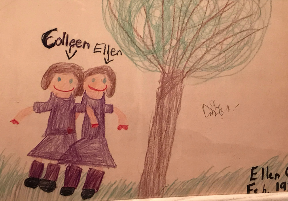 Drawn by Ellen in 1985