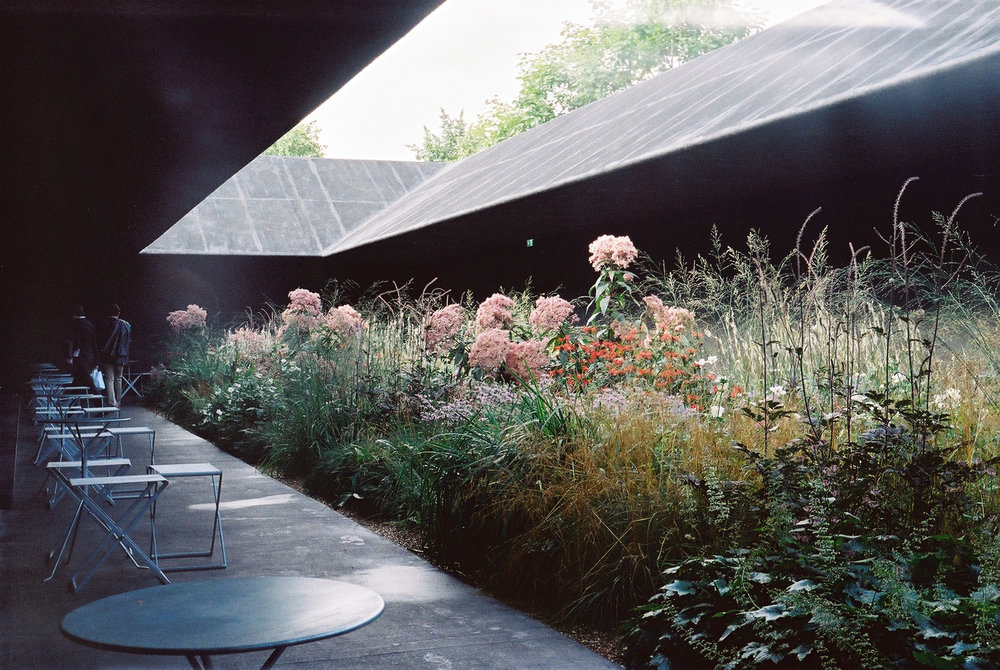 Peter Zumthor's Serpentine Pavilion (Not a Maggie's Centre, however rightly located in UK). Photo by Georgi Georgi via Flickr.