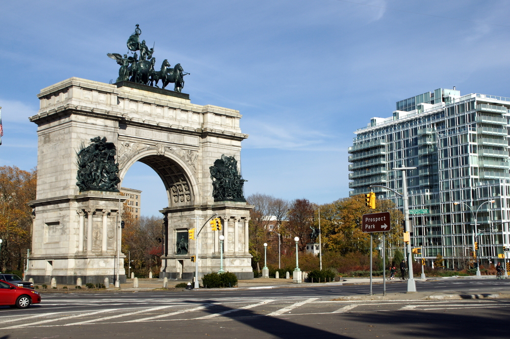 Grand Army Plaza - 12 noon