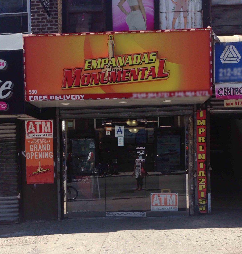 6. Empanadas Monumental (8:30 pm)